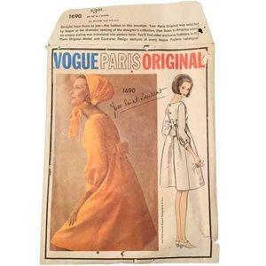 Vogue No. 1690 - Paris Original - Yves St. Laurent